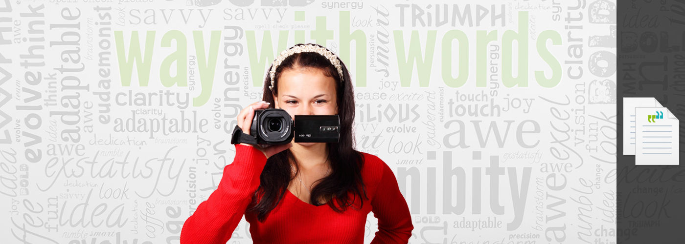 video transcription services way with words