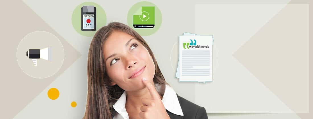 Way With Words Transcription Services United States