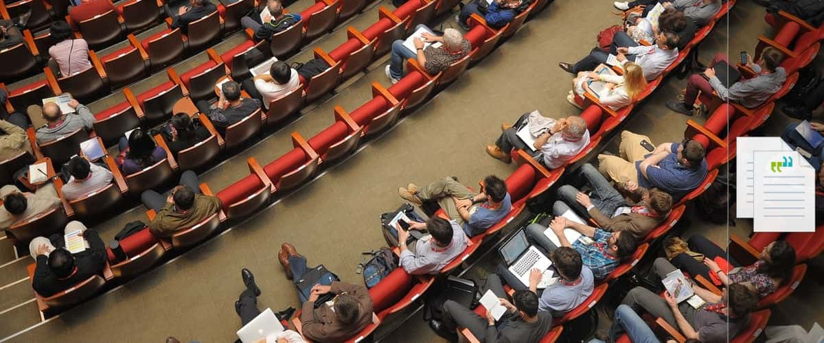 conference transcription services way with words