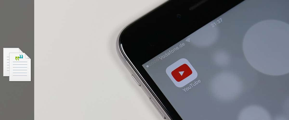 youtube transcription services way with words