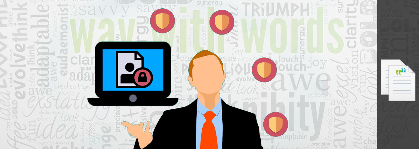 confidentiality and privacy policy way with words